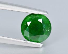 NO RESERVE 0.75Crt Rare Demantoid Round Cut Gemstone