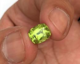 2.75 Carats Natural Periot Cut Stone from Pakistan