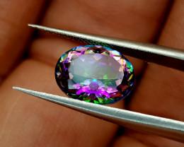 2.45Crt Mystic Quartz Natural Gemstones JI39