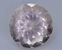 0.90 Crt Morganite Faceted Gemstone (Rk-6)