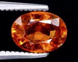 1.71 Crt Spessartite Garnet Faceted Gemstone (Rk-6)