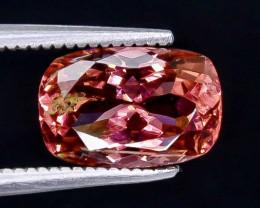 2.40 Crt Pink Tourmaline Faceted Gemstone (Rk-6)