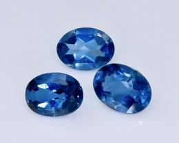 4.70 Crt London Blue Topaz Lot Faceted Gemstone (Rk-6)
