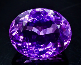 25.69 Crt Natural Amethyst Faceted Gemstone.( AB 26)