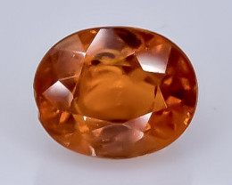1.22 Crt Natural Spessartite Garnet  Faceted Gemstone.( AB 26)