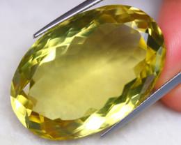 52.63ct Natural Lemon Quartz Oval Cut Lot GW8030