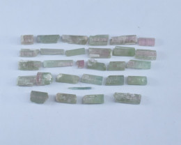 80 Carat Tourmaline Gemstone Crystals