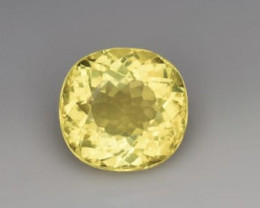 Top Grade 3.95 Carats Natural Heliodor Beryl Gemstone