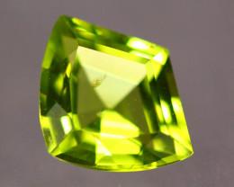 1.47ct Natural Green Peridot Fancy Cut Lot V8873