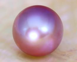 13.0mm 14.72Ct Natural Australian South Sea Purple Color Pearl B2202