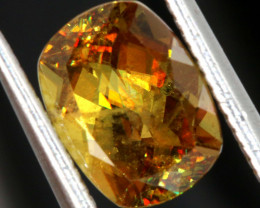 1.80 CTS  SPHENE FACETED GEMSTONE PG-427  PRECIOUSEGEMS