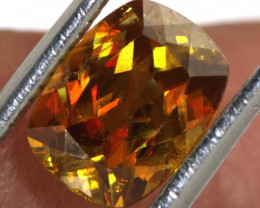 1.80 CTS  SPHENE FACETED GEMSTONE PG-428  PRECIOUSEGEMS