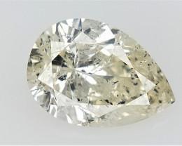 0.70 cts fancy Natural Diamond , Unique Shaped Diamond