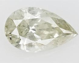 0.45 cts fancy Natural Diamond , Unique Shaped Diamond