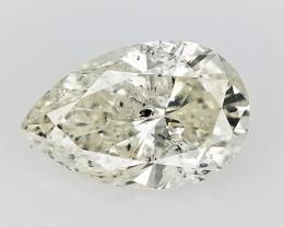 0.50 cts fancy Natural Diamond , Unique Shaped Diamond