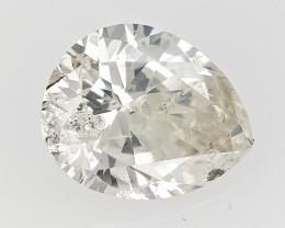 0.53 cts fancy Natural Diamond , Unique Shaped Diamond