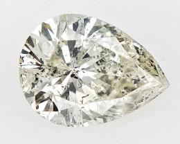 0.57 cts fancy Natural Diamond , Unique Shaped Diamond