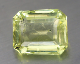 2.440 CT BERYL GREENISH YELLOW 100% NATURAL UNHEATED