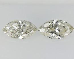 0.91 cts fancy Natural Diamond , Unique Shaped Diamond