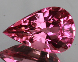 3.24CT 12X8MM $500 German Cut Top Quality Natural Mozambique Tourmaline-TE5