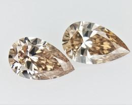 0.35 cts fancy Natural Diamond , Unique Shaped Diamond