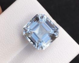 7.60  Carat Natural Sant Maria Color Aquamarine Gemstone