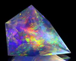18.78Ct ContraLuz Precision Cut Mexican Very Rare Species Opal A2305