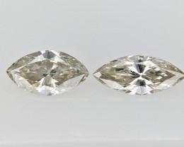 .25 cts fancy Natural Diamond , Unique Shaped Diamond