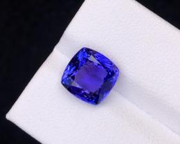 Top-Class, AAA Color, Natural Tanzanite, 4.45 carats.