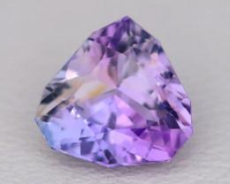 Tanzanite 1.58Ct VVS Fancy Pear Cut Natural TriColor Tanzanite A2336