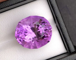 Amazing  21.75 Ct Gorgeous Color Natural Amethyst Amethyst