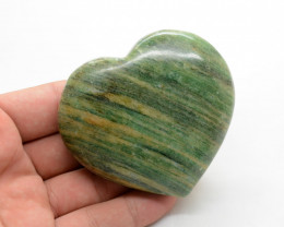1050 Cts Heart Shape Aventurine  Stone From Pakistan