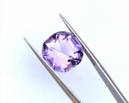 7.60 Carats Natural Amethyst Cut Stone from Africa