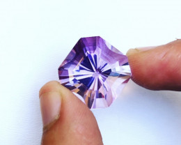 27 Carats Natural Amethyst Cut Stone from Africa