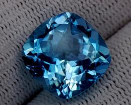 10.75CT BLUE TOPAZ BEST QUALITY GEMSTONE IIGC47