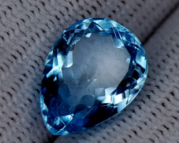 6.85CT BLUE TOPAZ BEST QUALITY GEMSTONE IIGC47