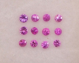 1.23ct unheated hot pink sapphire