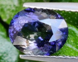 1.50 Cts_wow_Oval Cut_Fine Violetish Blue_Sizzling_Iolite