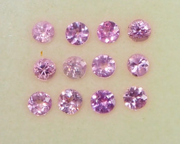 1.7ct unheated pink sapphire