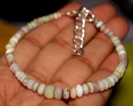18 Crts Natural Ethiopian Welo Opal Beads Bracelet 12