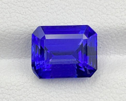 3.77 CT Tanzanite Gemstone top luster with fine Cutting