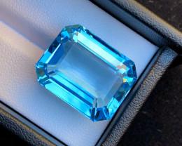 Top Grade 40.30 ct lovely Swiss Topaz Ring Size