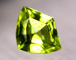 1.53ct Natural Green Peridot Fancy Cut Lot B3262