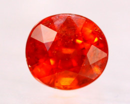 3.55ct Natural Orange Mandarin Garnet Oval Cut Lot V8903