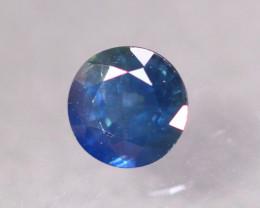 1.34ct Natural Pati Sapphire Round Cut Lot B3325