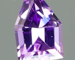 Inaugural Offer! NR Vivid Lavender Fancy Cut Spinel 0.92Ct