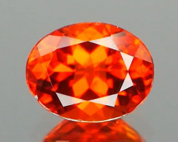 Inaugural Offer! NR Rare Orange Pamir Clinohumite 0.78Ct