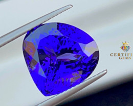 Exceptionally beautiful Rich hue Tanzanite