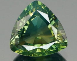 Inaugural Offer! NR IGI Certified Green-Yellow Parti Sapphire 1.74Ct
