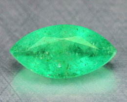*NoReserve*Emerald 1.07 Cts Natural Vivid Green Colombian